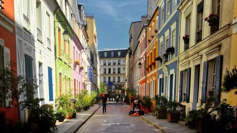 Balade estivale dans la rue la plus colore de Paris