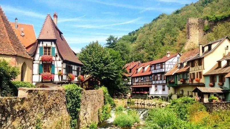 En Alsace les maisons  colombages en voie de disparition