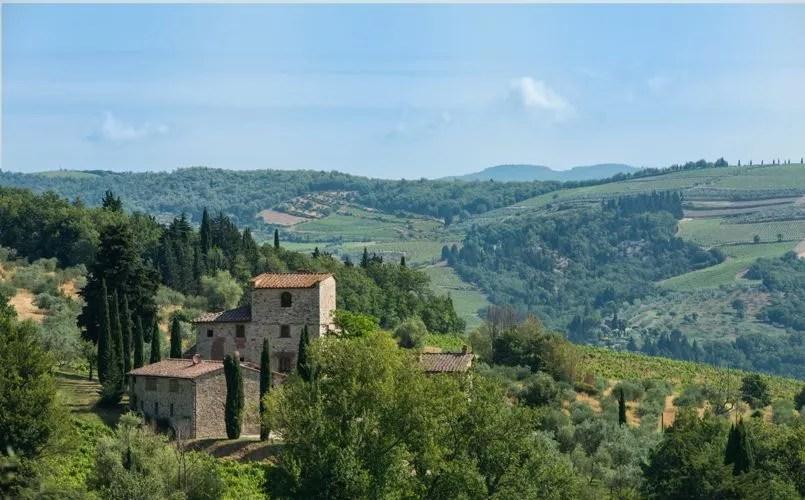 Offrezvous la maison de MichelAnge dans les collines toscanes