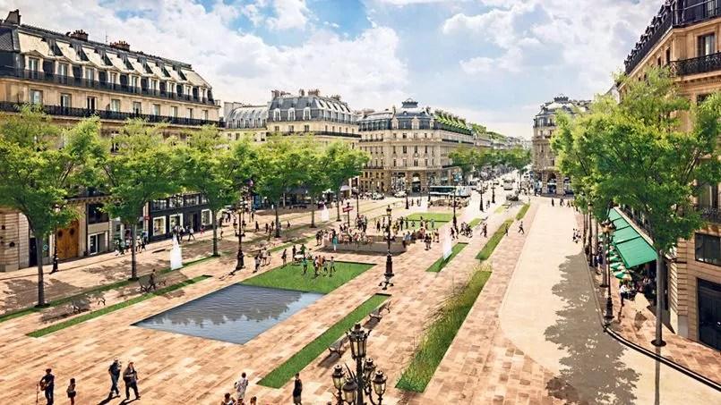 La Mairie de Paris veut pitonniser la place de lOpra