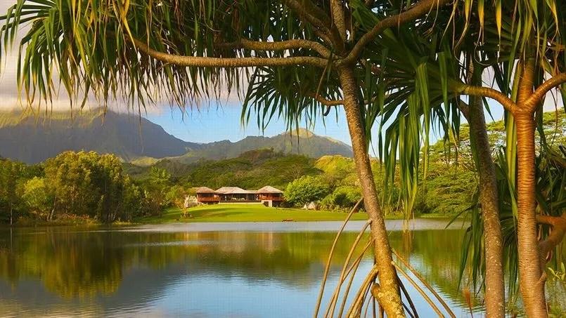 Voici la maison de vos rves dans les les hawaennes