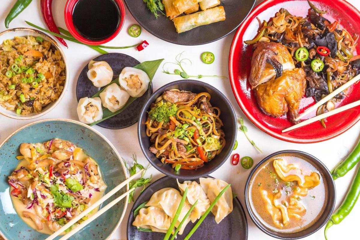 Cuisine Asiatique Chinois