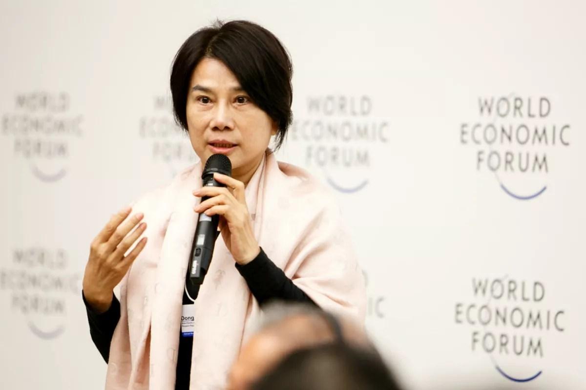 Dong Mingzhu lue femme daffaires la plus puissante de Chine na pas pris un jour de cong en