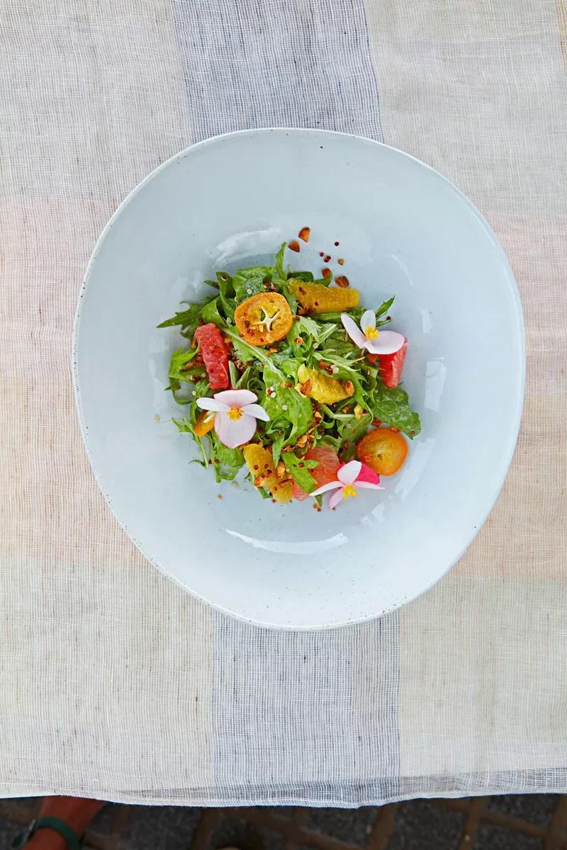 Recette salade acidule hawaenne  Cuisine  Madame Figaro