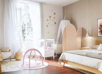 Miroir Dans Une Chambre De Bebe