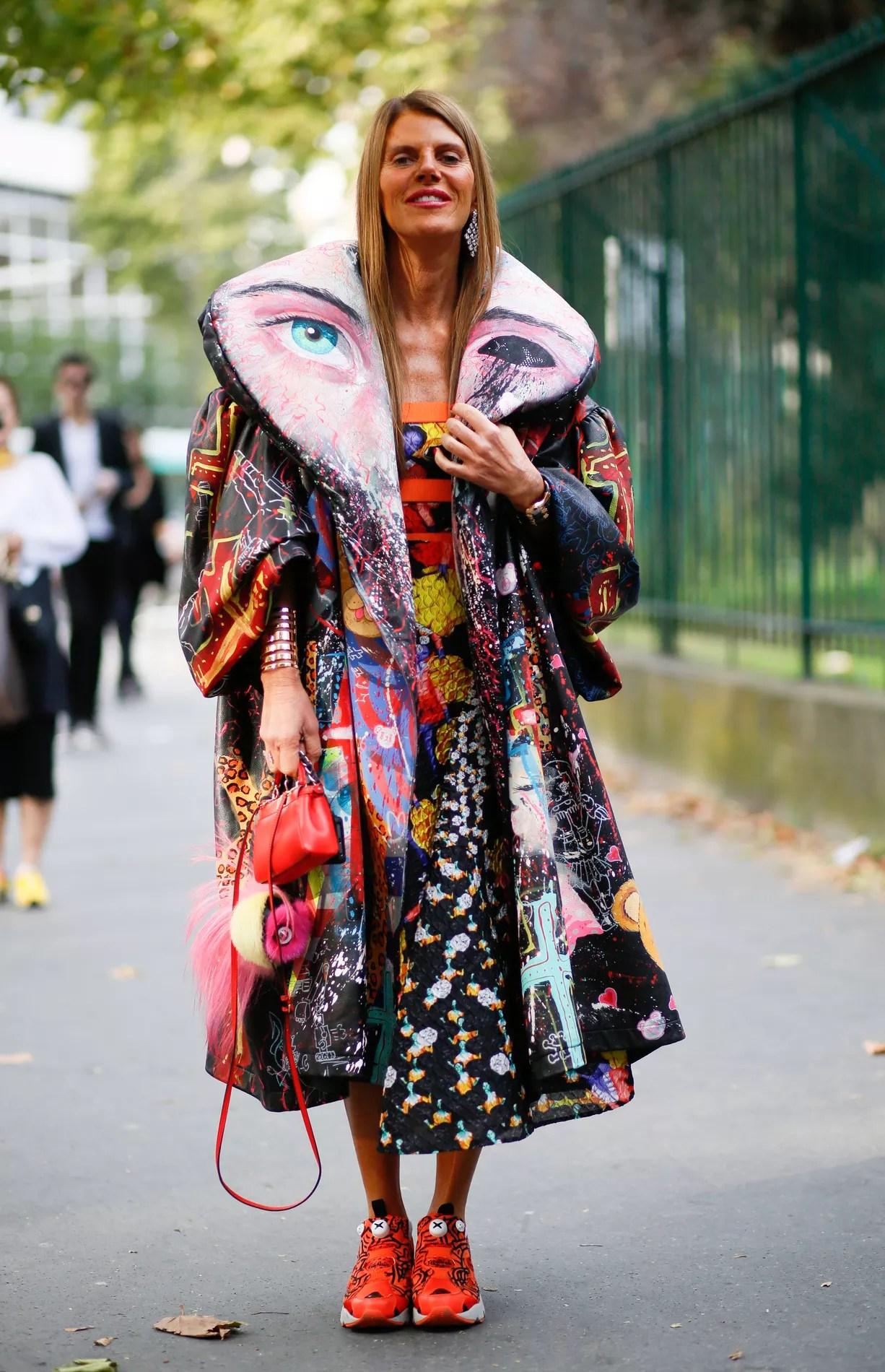 Anna Dello Russo grie du bizarre  Madame Figaro