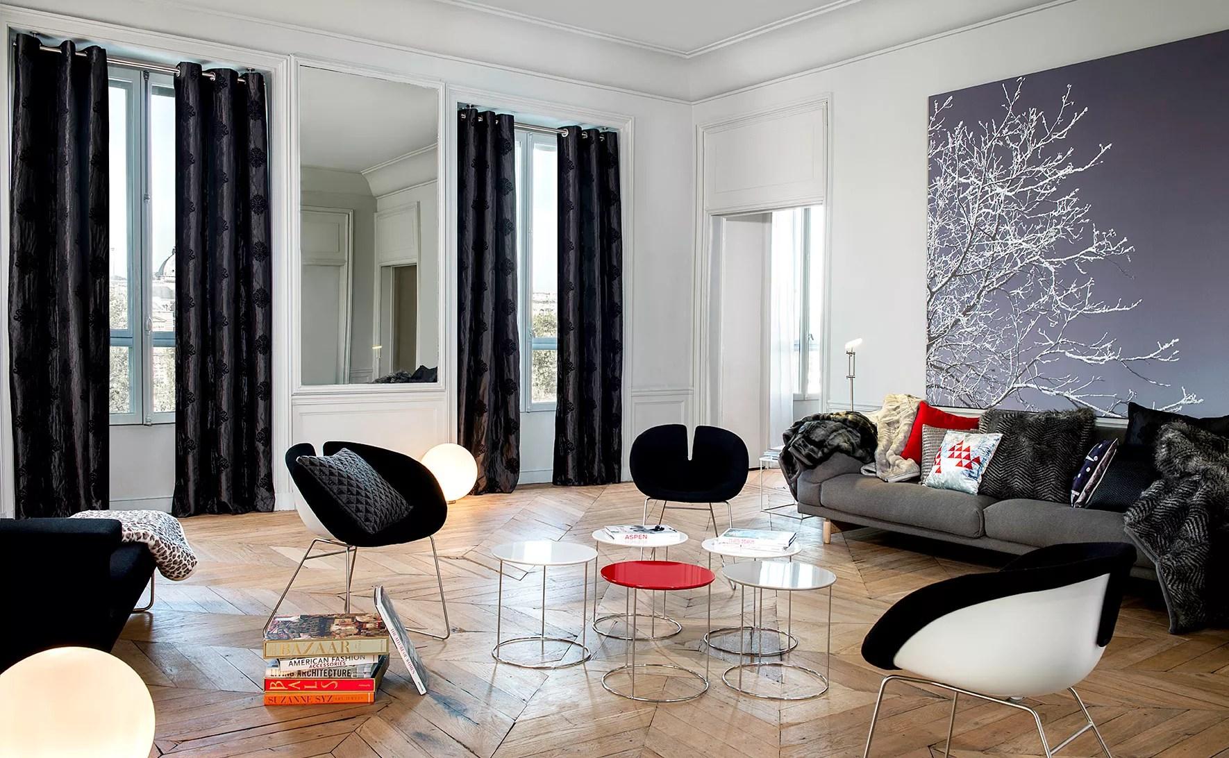 Deco Appartement Rideau