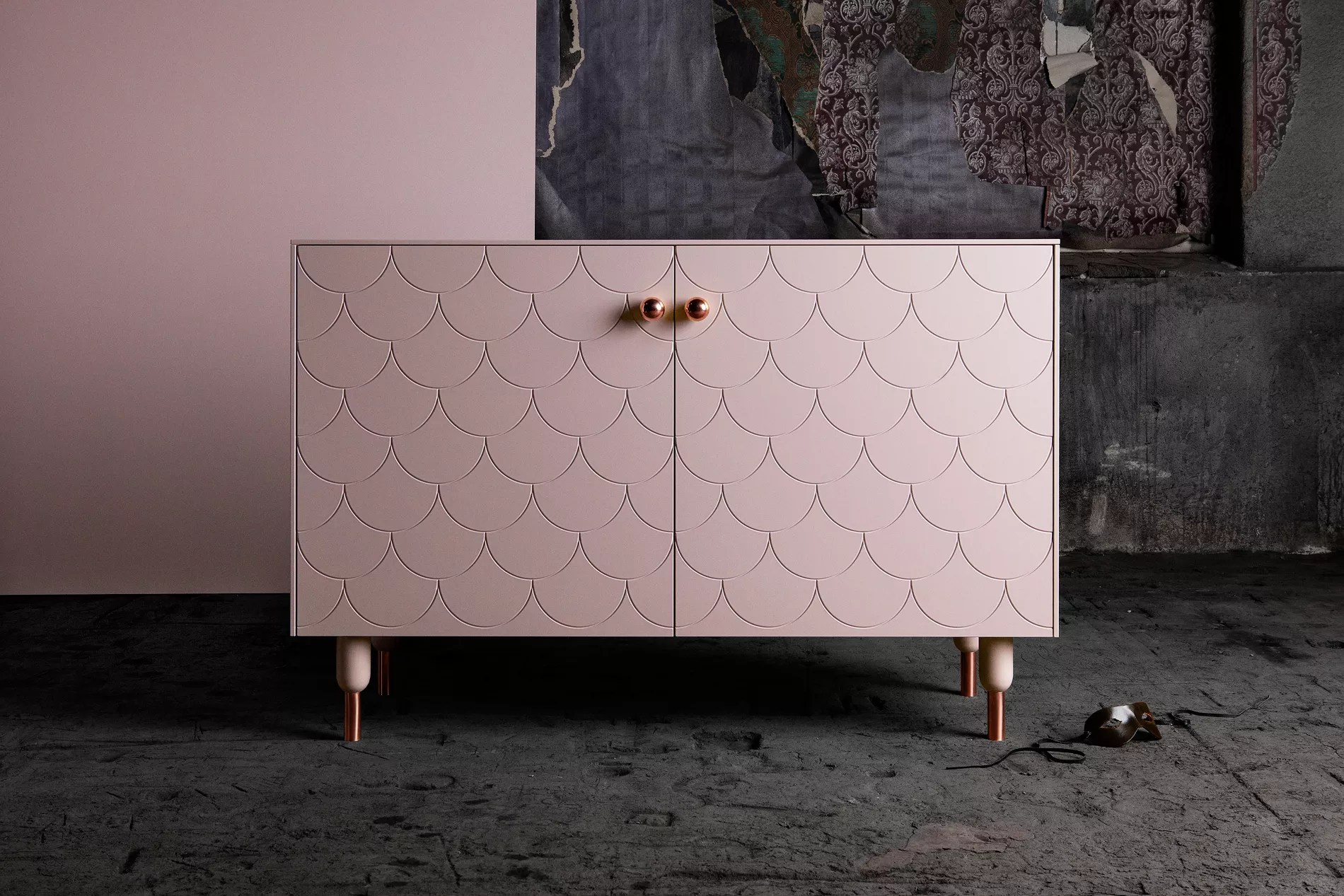 derriere ce meuble ikea customise par superfront se cache en realite les rangements passe partout besta
