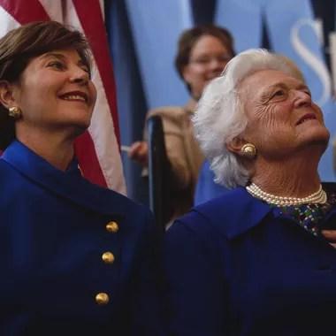 Laura Bush et Barbara Bush