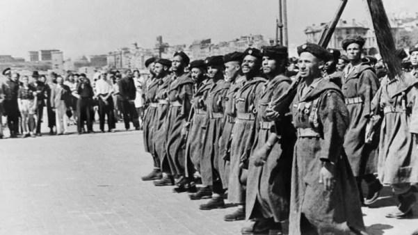 Солдаты из Северной Африки