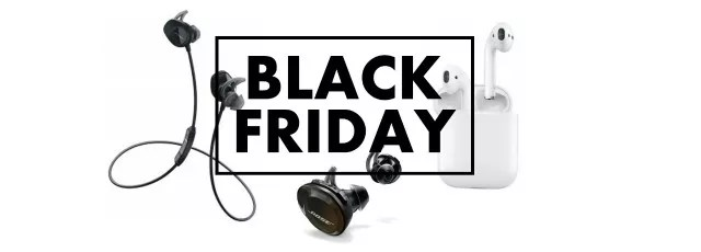 Black Friday 2018 : Meilleurs bons plans écouteurs sans fil