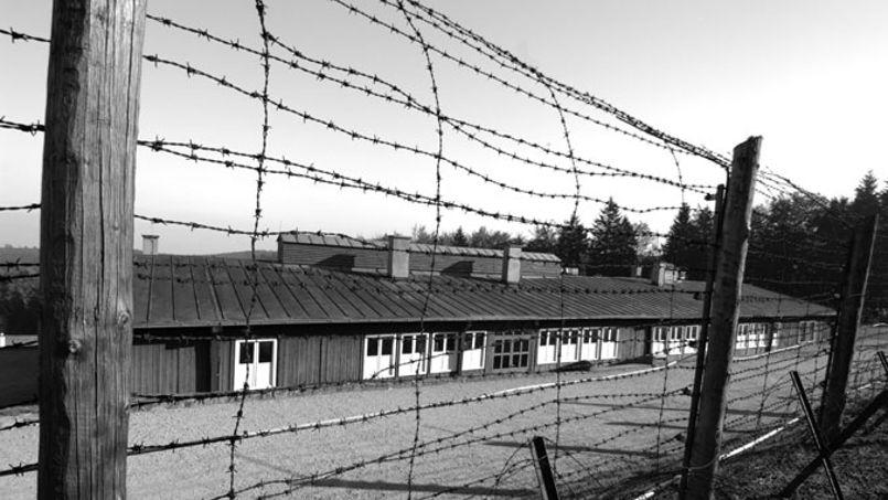 Le camp de concentration de Natzweiler-Struthof en Alsace est devenu lieu de mémoire et musée.