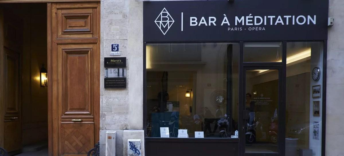 Бар для медитации в Париже