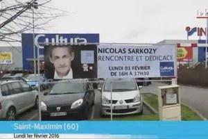 Sarkozy, lundi, dans l'Oise