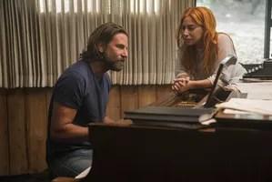 Bradley Cooper et Lady Gaga.