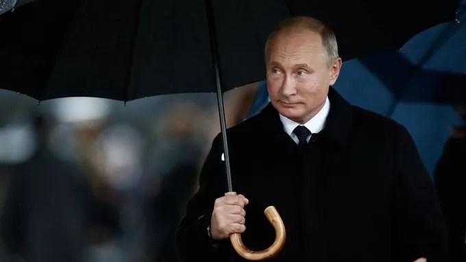 Vladimir Poutine a été le dernier à arriver.