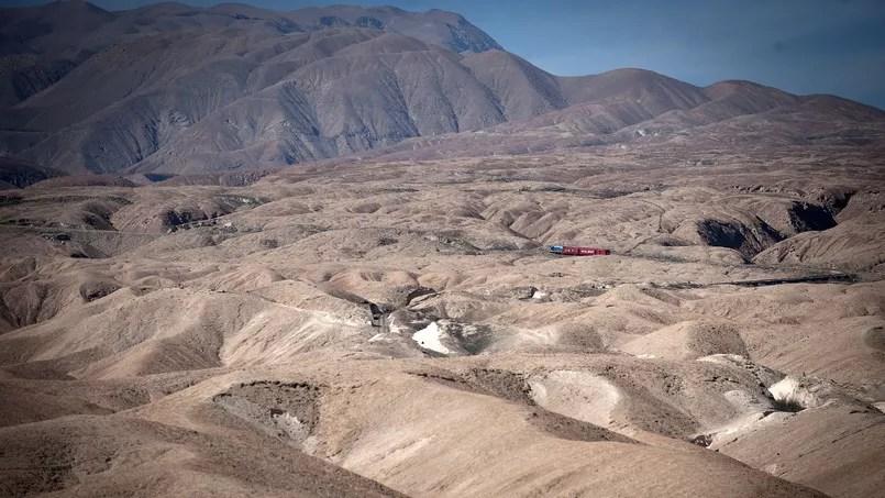 La province d'Arica au Chili est connue comme l'endroit habité le plus aride au monde - Crédit: CLAUDIO SANTANA/AFP