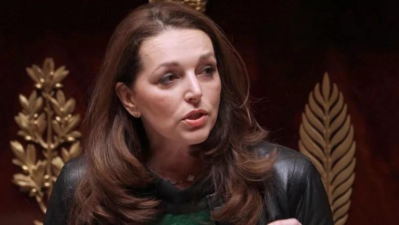 La députée UMP des Bouches-du-Rhône Valérie Boyer, le 22 décembre 2011 à l'Assemblée nationale à Paris.