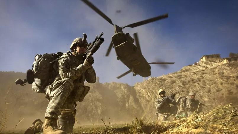 Des soldats américains lors d'une intervention en Afghanistan en 2008.
