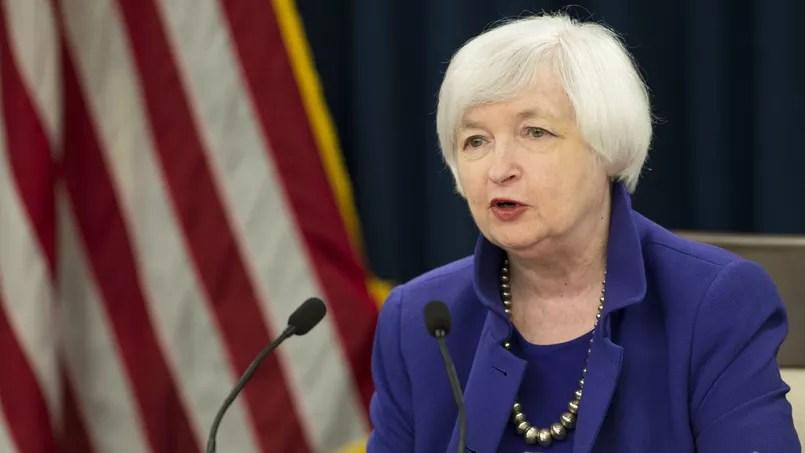 Janet Yellen, patronne de la Réserve fédérale.
