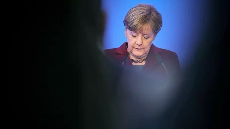 Angela Merkel, 11 janvier 2016