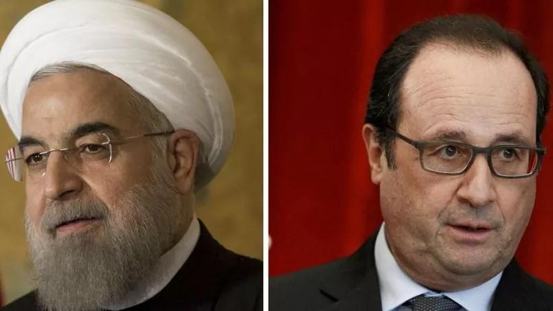 Hassan Rohani/François Hollande