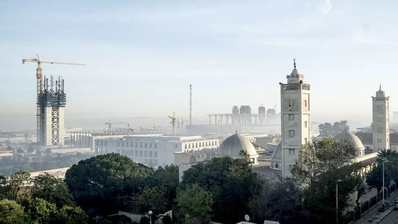 À Alger, la future grande mosquée Djamaa el-Djazaïr est construite par plus d'un millier d'ouvriers chinois
