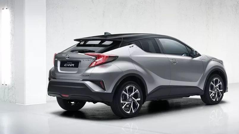 Le Toyota CHR reste spectaculaire