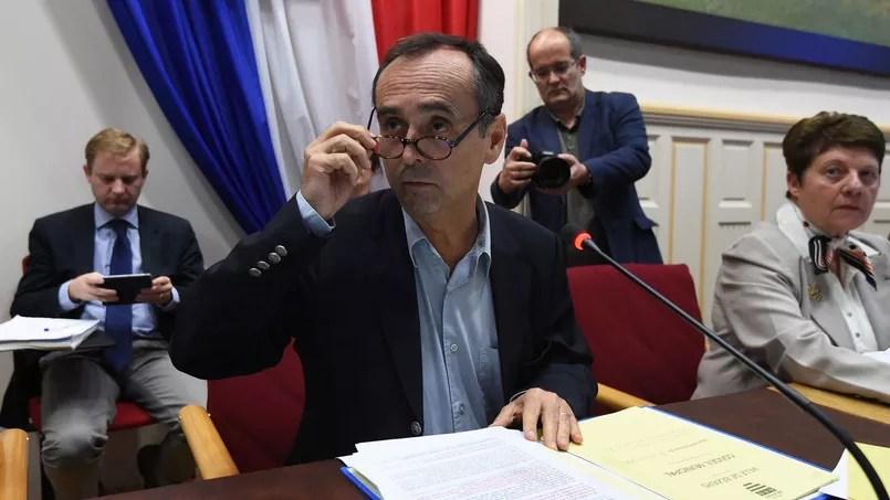 Robert Ménard, maire apparenté Fn de Béziers/