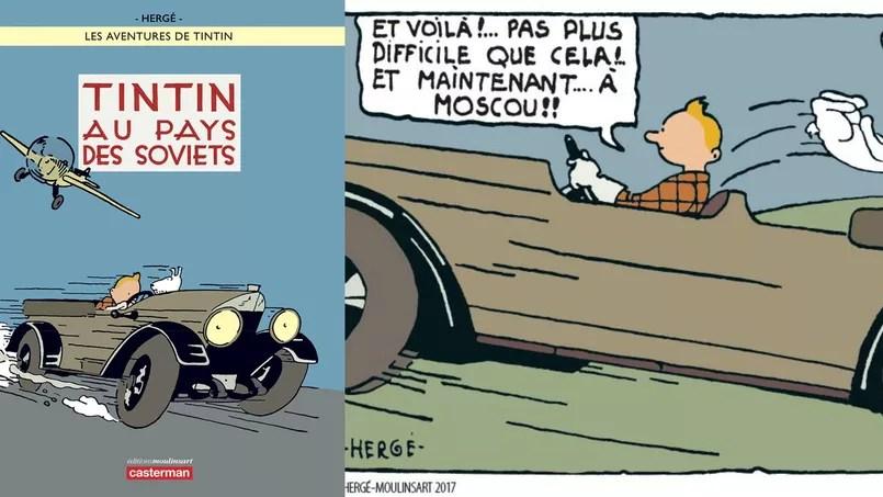 L'origine de cette mèche rebelle, dont Hergé dira plus tard qu'il s'agit d'un «accent» caractérisant son personnage, possède une singulière histoire.