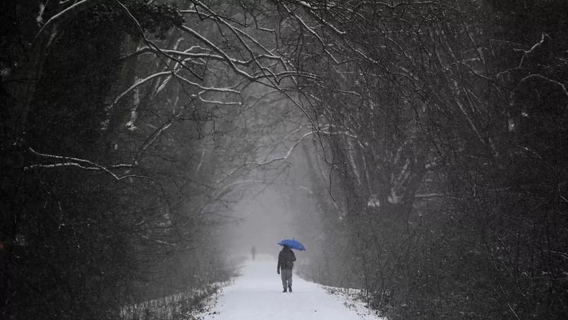 Ici à Strasbourg. L'ensemble du territoire sera frappé par une vive vague de froid la semaine prochaine.