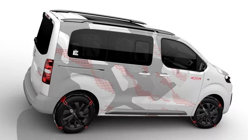 Citron Space Tourer 4X4  Concept de la camionnette au SUV baroudeur