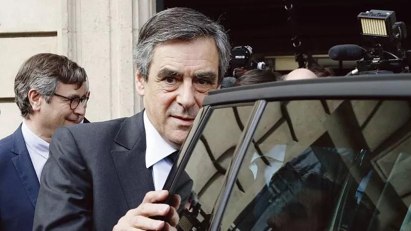 François Fillon, après son intervention devant les notaires au Conseil supérieurdu notariat, mercredi à Paris.