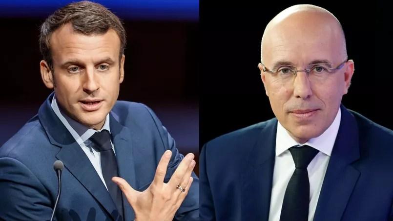 Emmanuel Macron et Eric Ciotti.