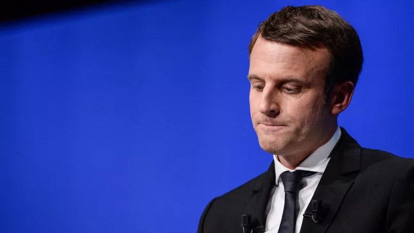 Emmanuel Macron, candidat à la présidentielle d'En Marche!