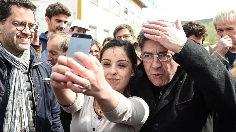 Jean-Luc Mélenchon, candidat de la France Insoumise