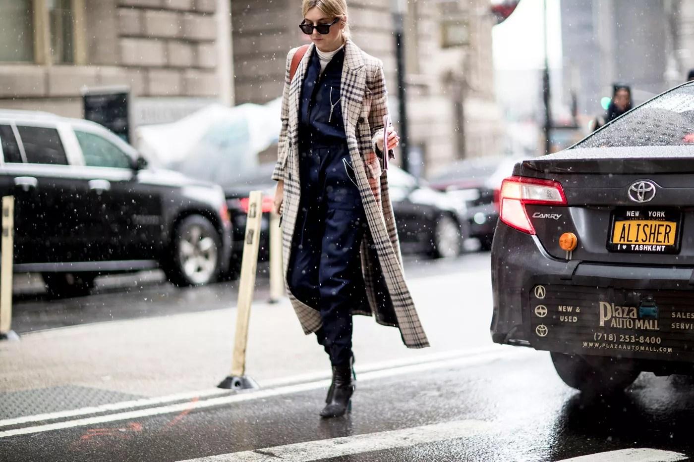 fashion week le style des modeuses new yorkaises a l epreuve du froid madame figaro