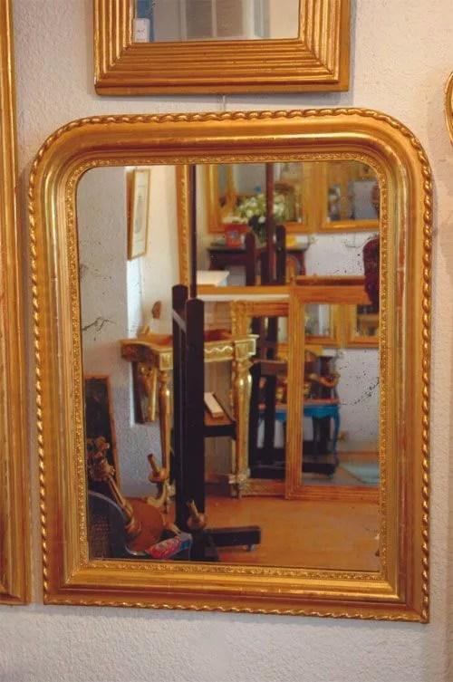 la restauration du cadre d un miroir ancien