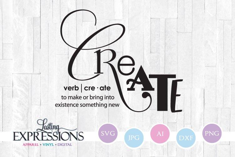 Create Definition Svg Craft Quote 209214 Svgs Design Bundles