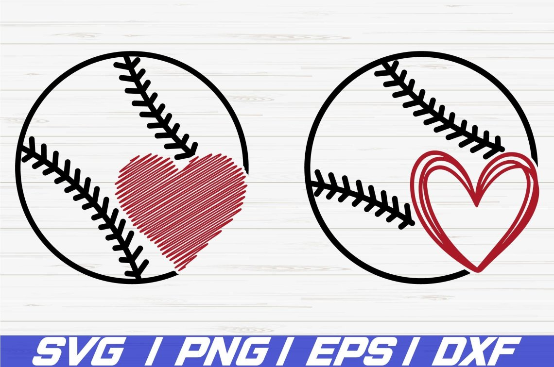 Download Free Baseball Love Svg - Layered SVG Cut File - Best Free ...