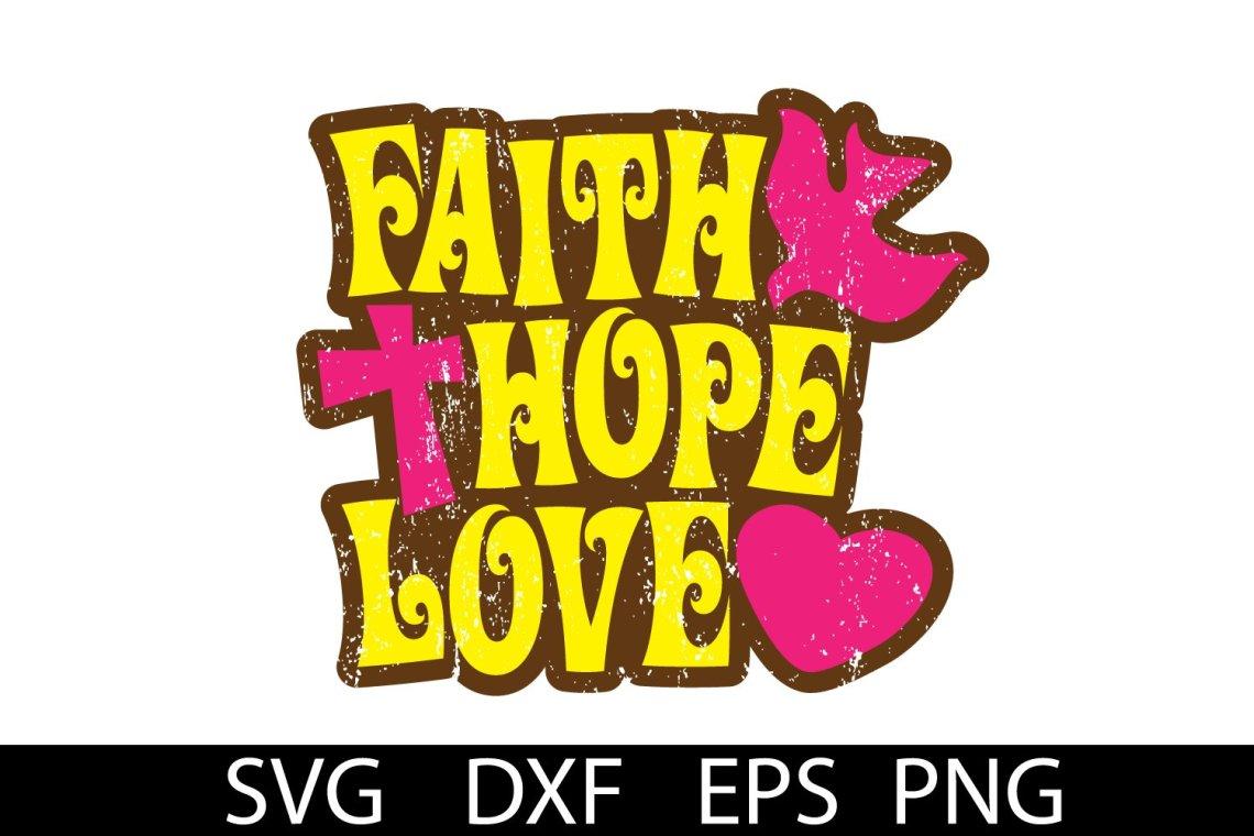 Download Hope Strength Love Svg - Layered SVG Cut File - Download ...