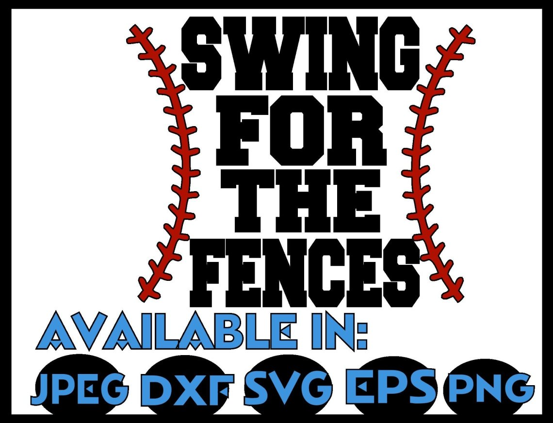 Download Baseball svg SVG DXF JPEG Silhouette Cameo Cricut Baseball ...
