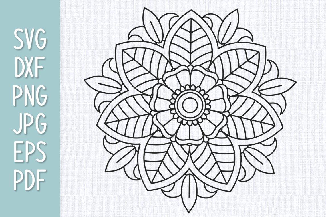 Download Mandala SVG