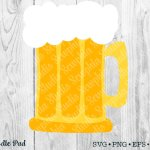 Beer Mug Svg Cricut Silhouette Cut File 215043 Cut Files Design Bundles