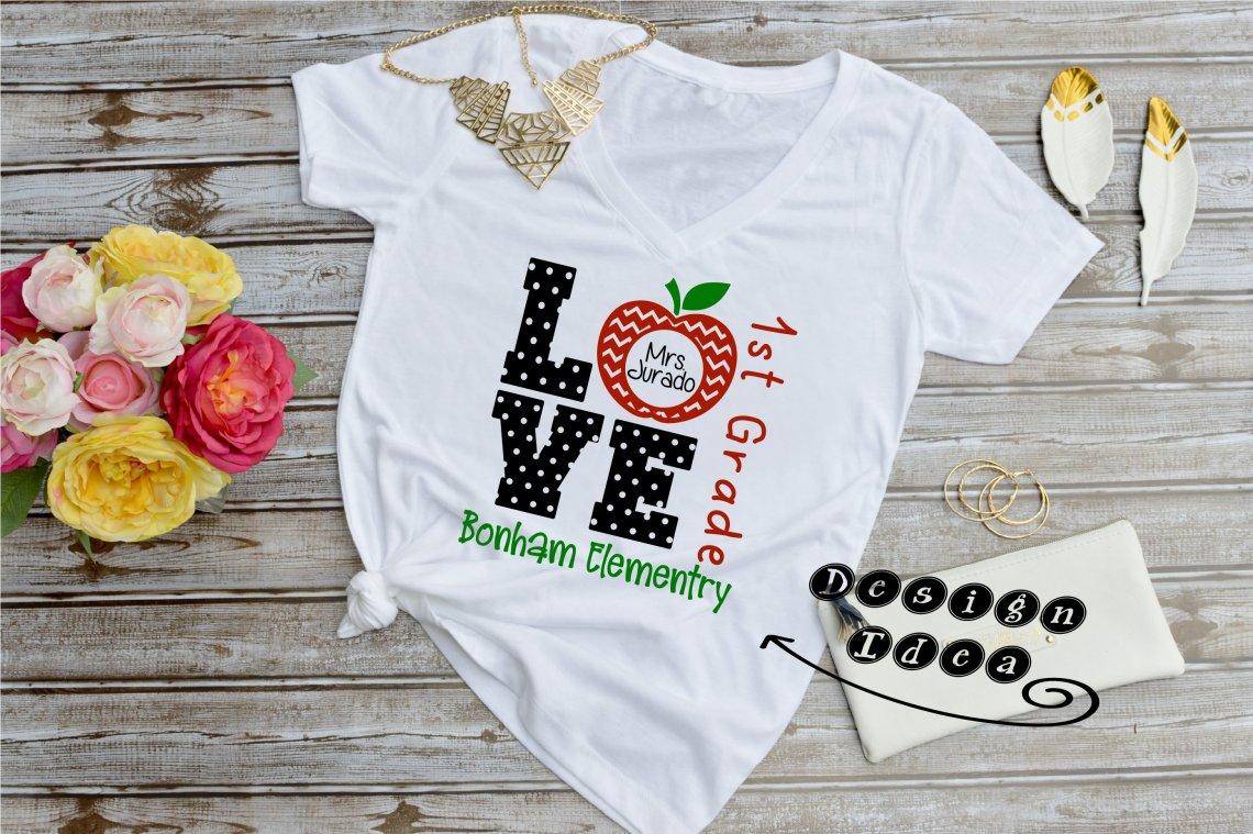 Download Love Teacher SVG (563394) | Cut Files | Design Bundles