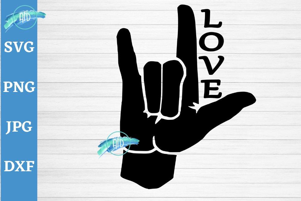 Download ASL I love you sign, LOVE svg, sign language svg, ASL sign ...