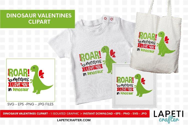 Download Dinosaur valentine svg, roar means I love you in dinosaur ...
