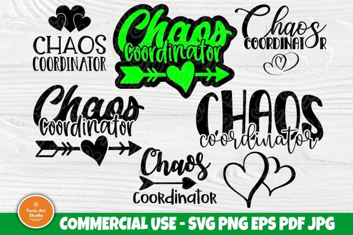 Download Chaos Coordinator SVG Bundle, Mom Life Svg, Svg Cut Files ...