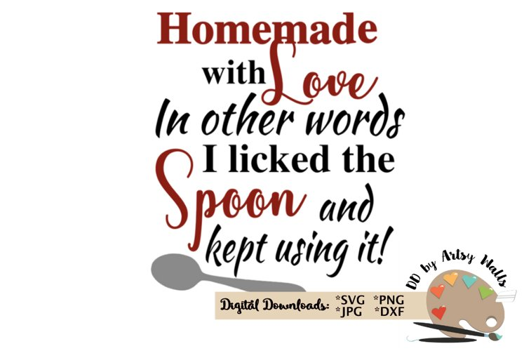Download Homemade with love svg funny baking cooking svg file ...