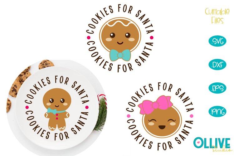 Download Cookies for Santa Cute SVG Bundle (728718)   Seasonal ...